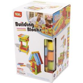 Műanyag építójáték 40 db Itt egy ajánlat található, a bővebben gombra kattintva, további információkat talál a termékről.
