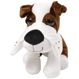Kutya plüssfigura nagy szemekkel - 25 cm