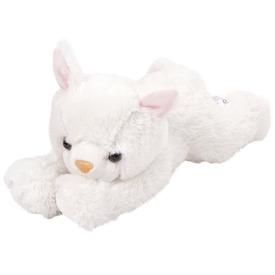 Fehér plüss cica, 25 cm Itt egy ajánlat található, a bővebben gombra kattintva, további információkat talál a termékről.