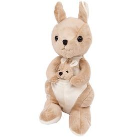 Plüss kenguru, 25 cm