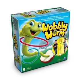 Wobbly Worm karikadobáló társasjáték