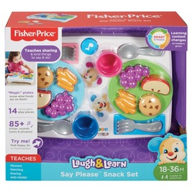 Fisher-Price illemtudó uzsitálca bébijáték