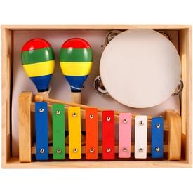 Katicás fa hangszer készlet - nagy Itt egy ajánlat található, a bővebben gombra kattintva, további információkat talál a termékről.