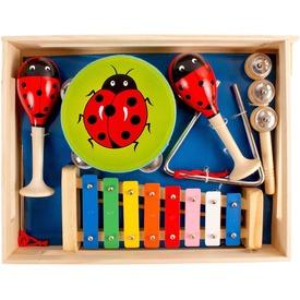 Katica fa hangszer 6 darabos készlet