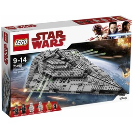 LEGO® Star Wars Első rendi csillagromboló 75190 Itt egy ajánlat található, a bővebben gombra kattintva, további információkat talál a termékről.