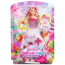 Barbie Dreamtopia zenélő Barbie baba - 29 cm