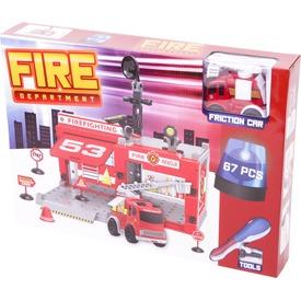 Műanyag építőjáték - Tűzoltóság, 67 db-os Itt egy ajánlat található, a bővebben gombra kattintva, további információkat talál a termékről.
