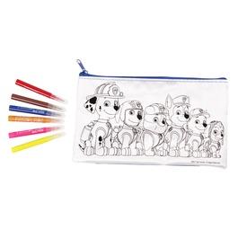 Mancs Őrjárat - Kifesthető tolltartó készlet