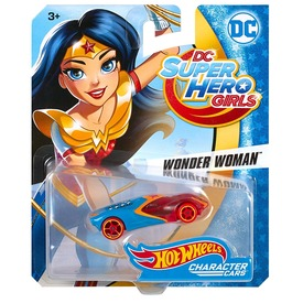 Hot Wheels DC Super Hero Girls kisautó - többféle