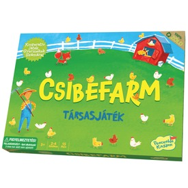 Peaceable Kingdom Csibefarm társasjáték GM