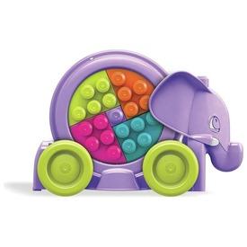 Mega Bloks elefánt parádé - rózsaszín