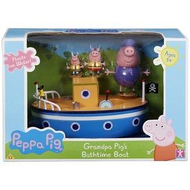Peppa malac nagypapi hajója fürdőjáték készlet