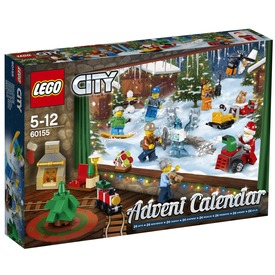 LEGO City 60155 Adventi naptár