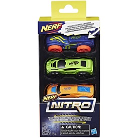 NERF Nitro kisautó utántöltő 3 darabos - többféle Itt egy ajánlat található, a bővebben gombra kattintva, további információkat talál a termékről.