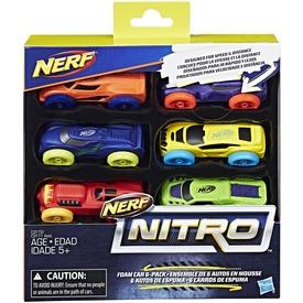 NERF Nitro kisautó utántöltő 6 darabos - többféle