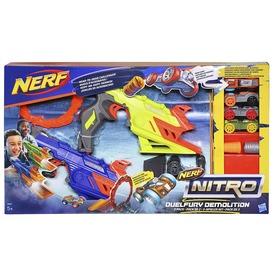 NERF Nitro Duelfury Demolition dupla autókilövő