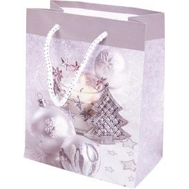 Karácsonyfa ajándéktáska - ezüst, 14 x 11 cm Itt egy ajánlat található, a bővebben gombra kattintva, további információkat talál a termékről.