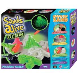 Sand Alive homok világító vulkán készlet