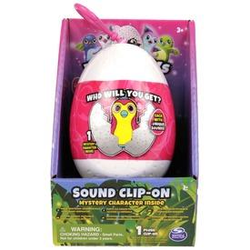 Hatchimals kulcstartó tojásban hanggal - 15 cm