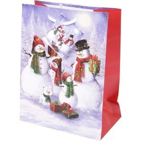 Papírtasak hóemberek +ajándék