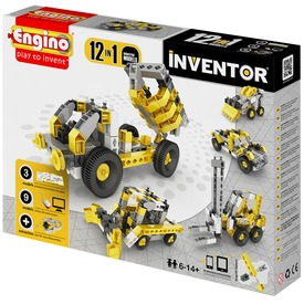 Engino - INVENTOR 12 IN 1 Ipari járművek