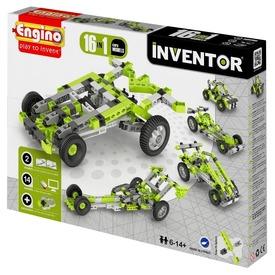 Engino Inventor autó 16 az 1-ben készlet