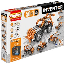 Engino - INVENTOR Motorizált 50db-os multi Itt egy ajánlat található, a bővebben gombra kattintva, további információkat talál a termékről.