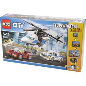 LEGO® City 3 az 1-ben rendőrségi készlet 66550