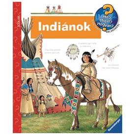 Indiánok foglalkoztatókönyv