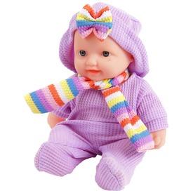 Játékbaba ruhában sállal - 24 cm, többféle Itt egy ajánlat található, a bővebben gombra kattintva, további információkat talál a termékről.