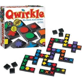 Qwirkle formák színek kombinációk társasjáték