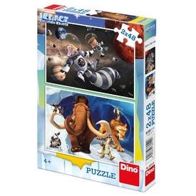 Jégkorszak 5 - 2 x 48 darabos puzzle Itt egy ajánlat található, a bővebben gombra kattintva, további információkat talál a termékről.