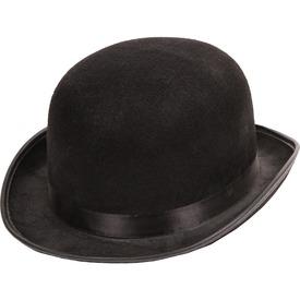 Chaplin textil kalap - fekete, univerzális méret