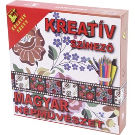 Kreatív színező - Magyar népművészet  Itt egy ajánlat található, a bővebben gombra kattintva, további információkat talál a termékről.