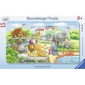 Kalandok az állatkertben 15 darabos puzzle