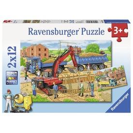 Építkezés 2 x 12 darabos puzzle