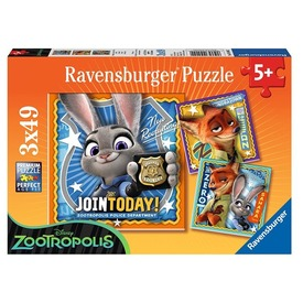 Zootropolis 3 x 49 darabos puzzle Itt egy ajánlat található, a bővebben gombra kattintva, további információkat talál a termékről.
