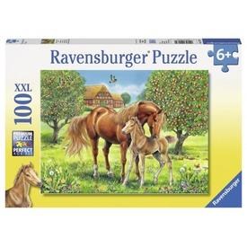 Lovak a mezőn 100 darabos XXL puzzle