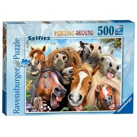 Lovak 500 darabos puzzle