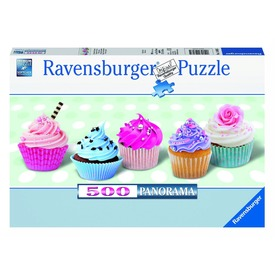 Édes sütemények 500 darabos panoráma puzzle Itt egy ajánlat található, a bővebben gombra kattintva, további információkat talál a termékről.