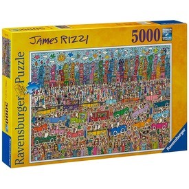 James Rizzi 5000 darabos puzzle