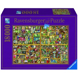 Colin Thompson: Varázslatos könyves szekrény 18000 darabos puzzle