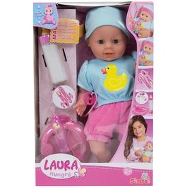 Laura etethető baba 38 cm