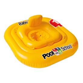 Intex 56587 Beülős bébi úszógumi sárga, 79 x 79 cm