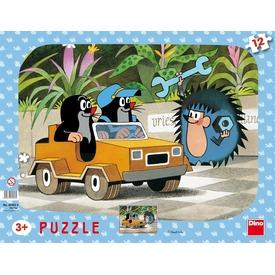 Kisvakond autója 12 darabos puzzle Itt egy ajánlat található, a bővebben gombra kattintva, további információkat talál a termékről.