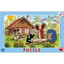 Kisvakond látogatóban 15 darabos puzzle Itt egy ajánlat található, a bővebben gombra kattintva, további információkat talál a termékről.