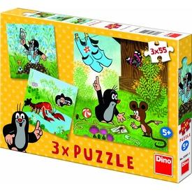 Kisvakond nadrágja 3 x 55 darabos puzzle Itt egy ajánlat található, a bővebben gombra kattintva, további információkat talál a termékről.