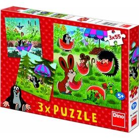Kisvakond és az esernyő 3 x 55 darabos puzzle Itt egy ajánlat található, a bővebben gombra kattintva, további információkat talál a termékről.