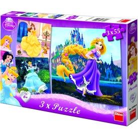 Disney hercegnők 3 x 55 darabos puzzle Itt egy ajánlat található, a bővebben gombra kattintva, további információkat talál a termékről.