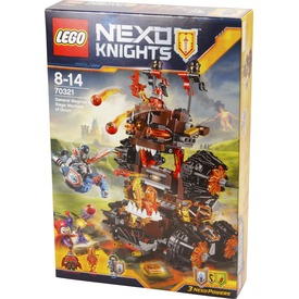 LEGO® Nexo Knights Magmar tábornok ostromgépe 70321 Itt egy ajánlat található, a bővebben gombra kattintva, további információkat talál a termékről.